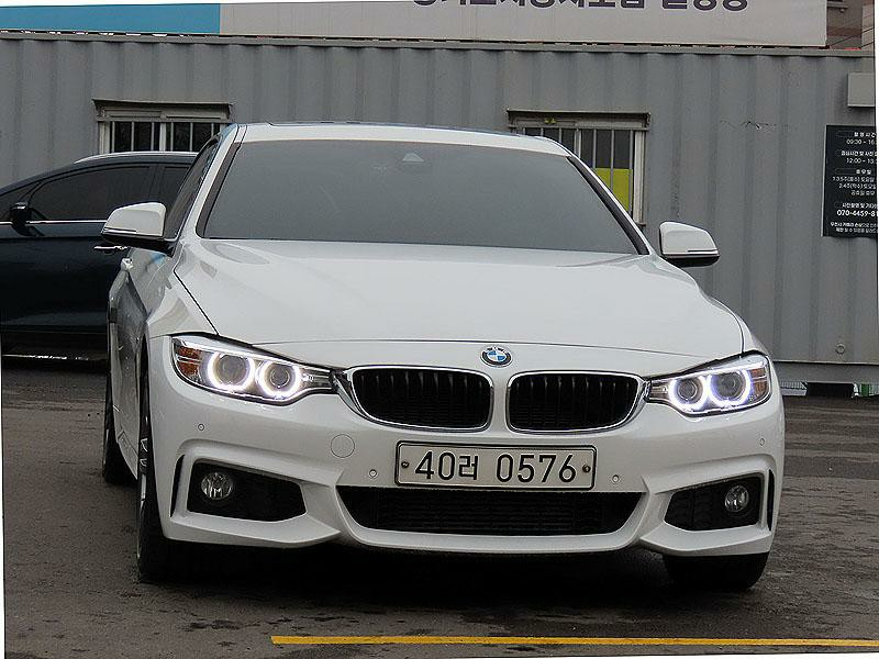 BMW 420d Xdrive M스포츠 쿠페 - 0