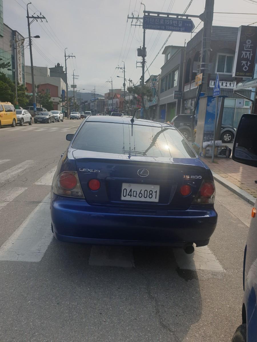 렉서스 is200 오토 17만키로 - 3