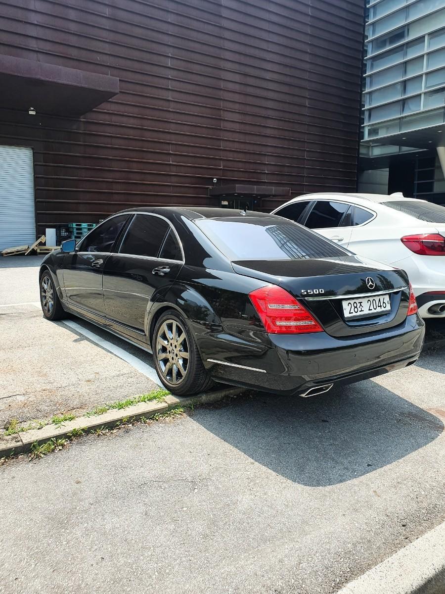 신형개조된 S500   1100만원 - 2