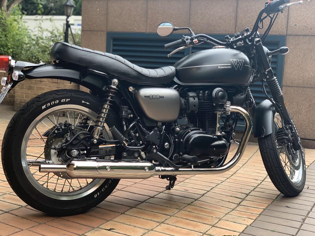 가와사키 w800 19년식 스트릿모델 - 1