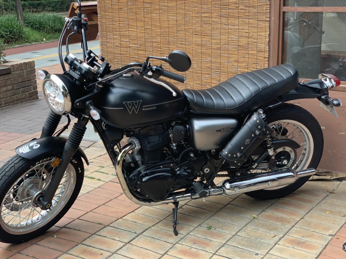 가와사키 w800 19년식 스트릿모델 - 2