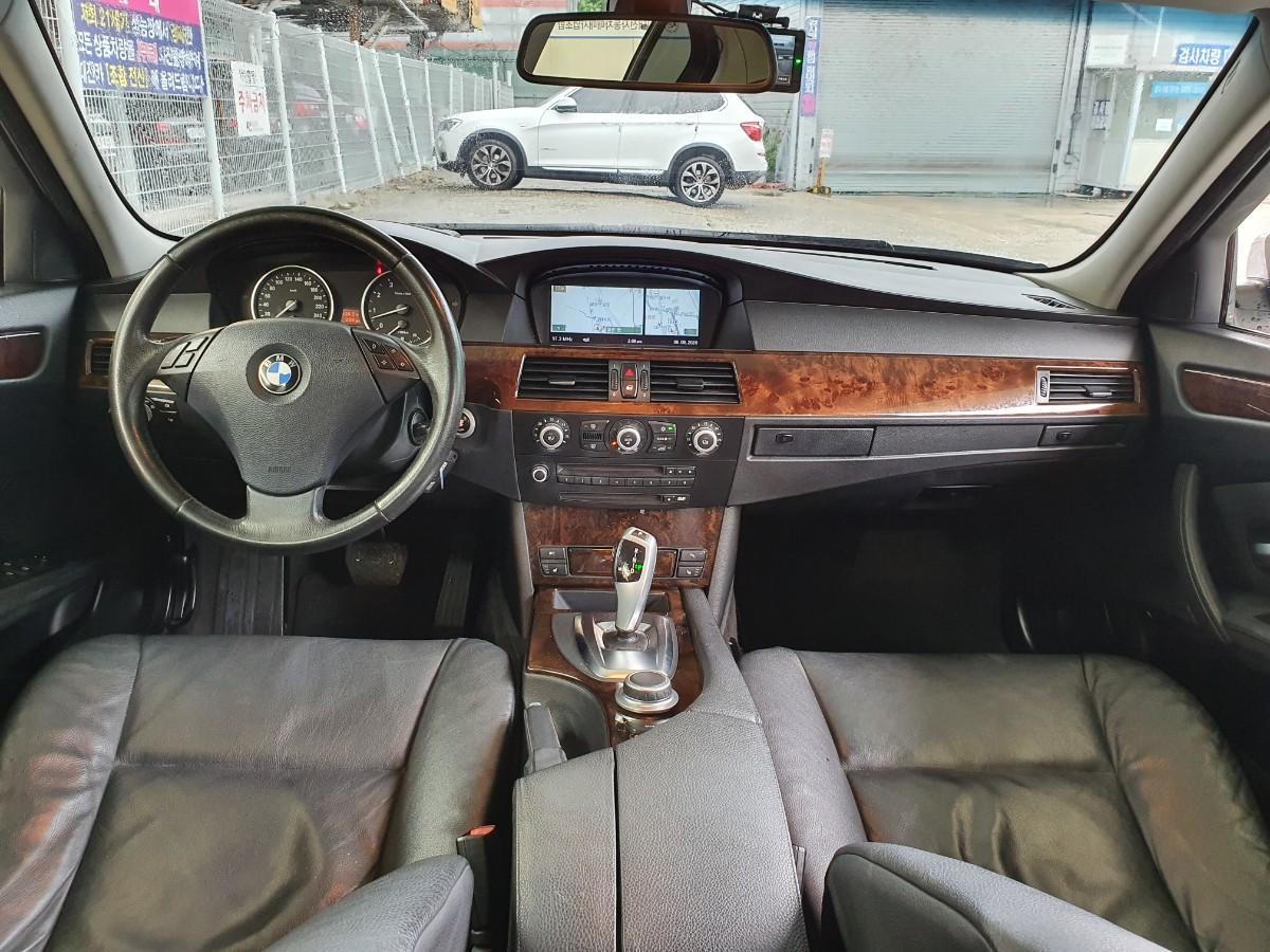 08년식 BMW528i 무사고 162400키로 최저가 대차환영 - 5