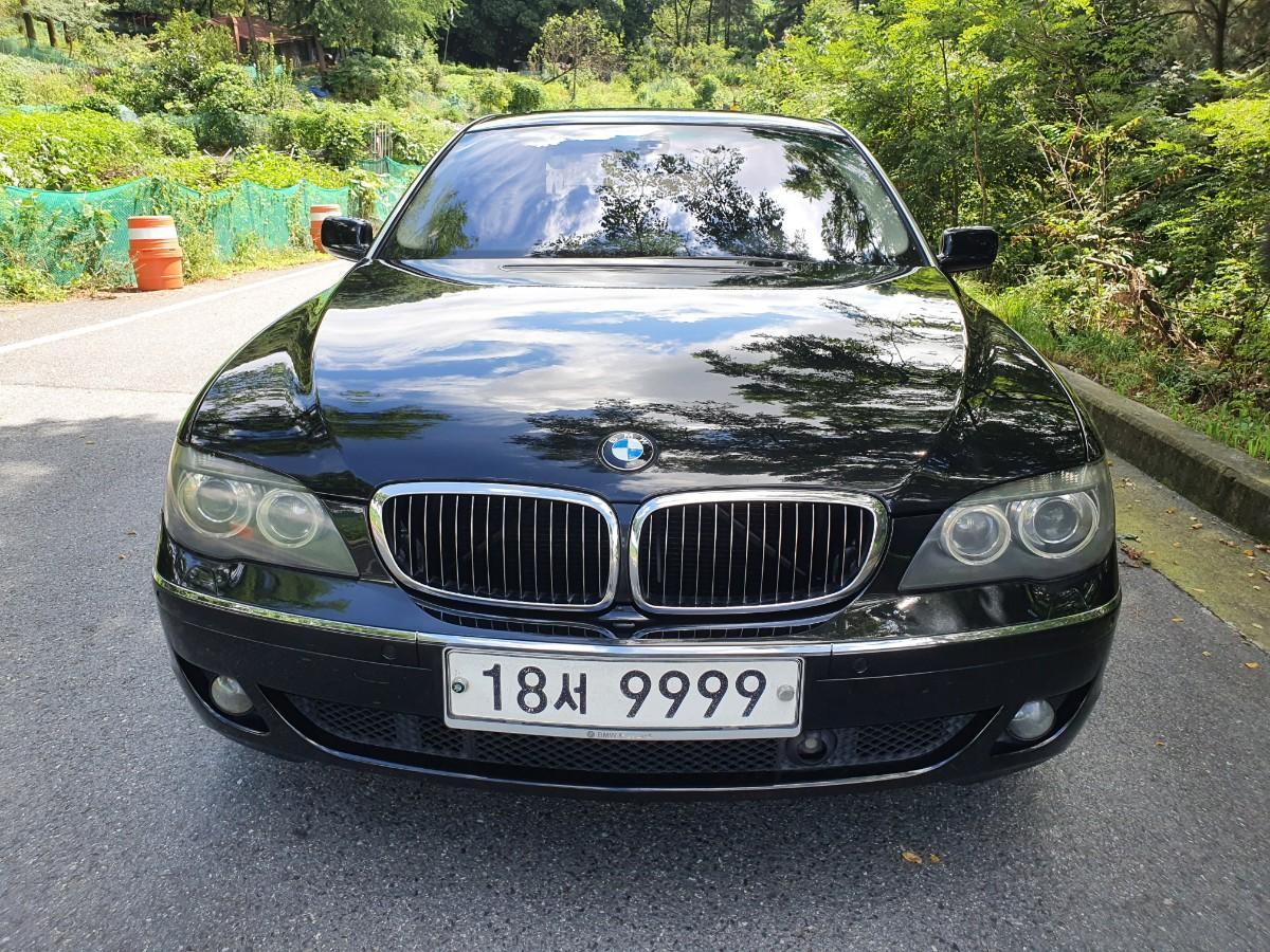 07년식 BMW750LI 풀옵션 무사고 217800키로 로얄번호대차환영 - 0