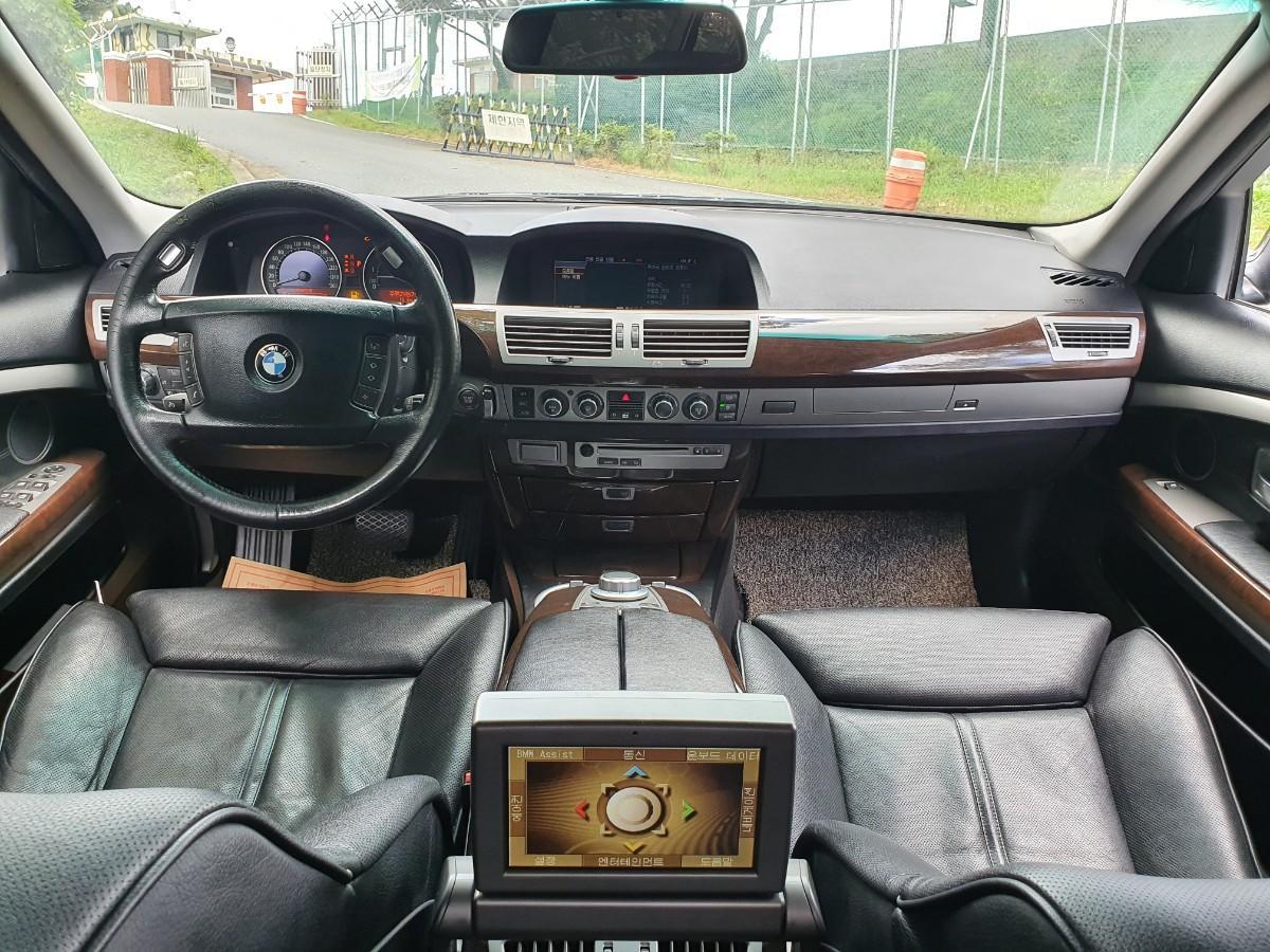 07년식 BMW750LI 풀옵션 무사고 217800키로 로얄번호대차환영 - 3