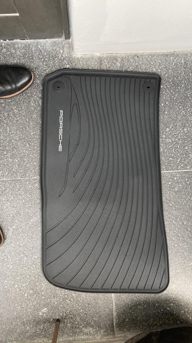 포르쉐 파나메라(970) 정품 고무매트 새상품 - 1