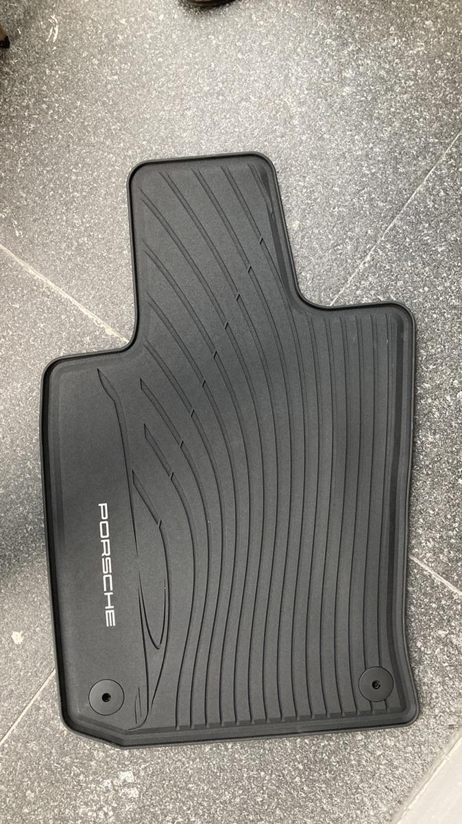 포르쉐 파나메라(970) 정품 고무매트 새상품 - 4