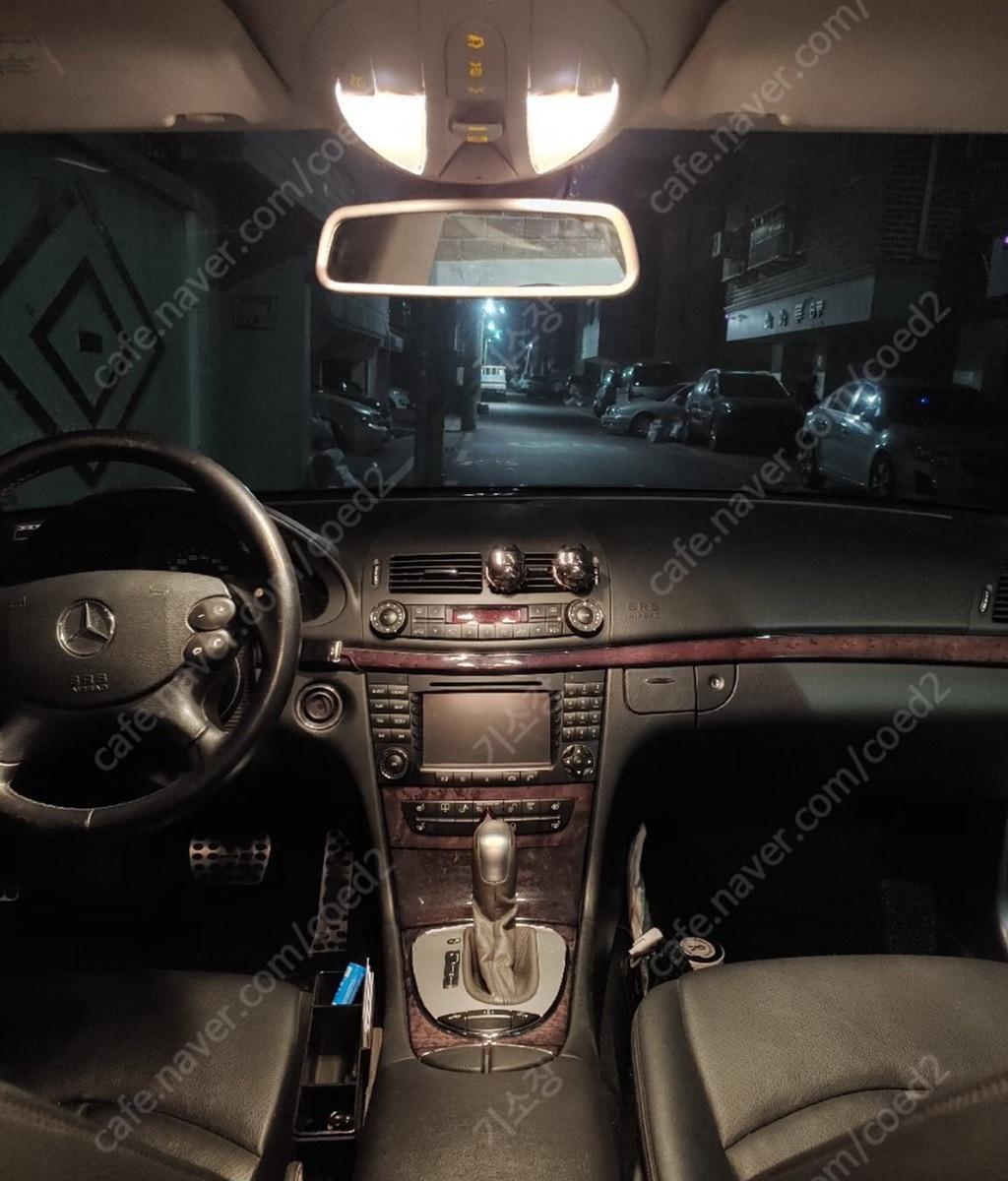 벤츠w211 e220cdi 2008년식 후기형 amg바디킷 판매 및 대차 - 3