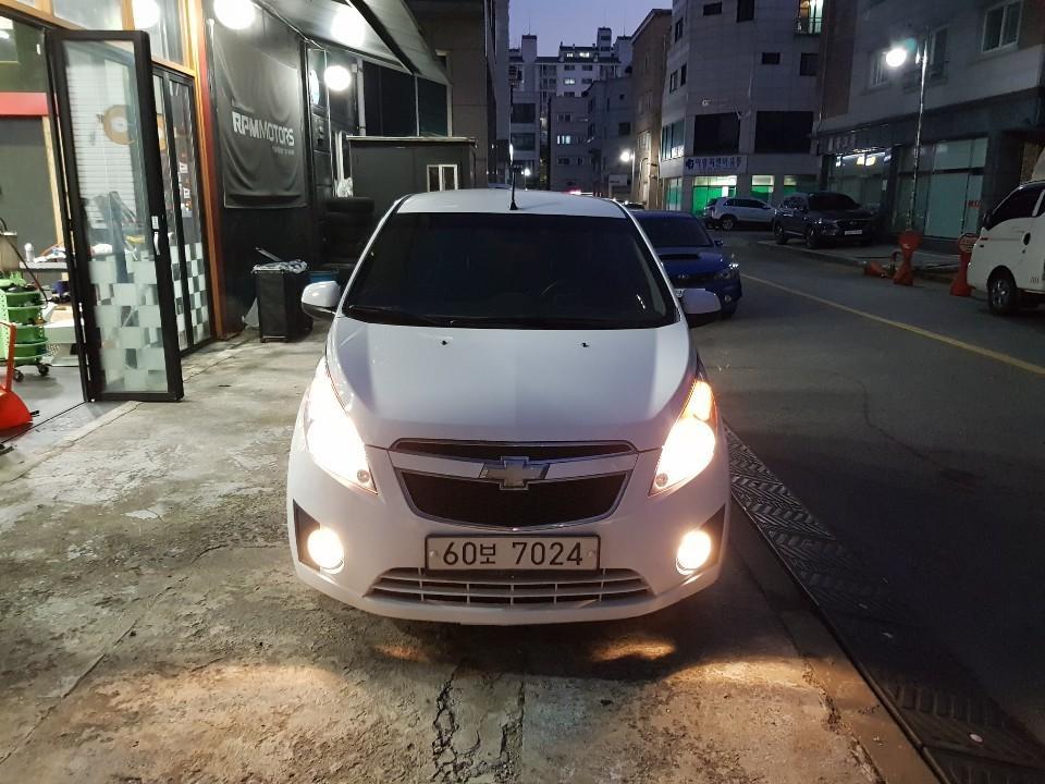 쉐보레 스파크 가스차 경차lpg 오토판매.300만원 - 2