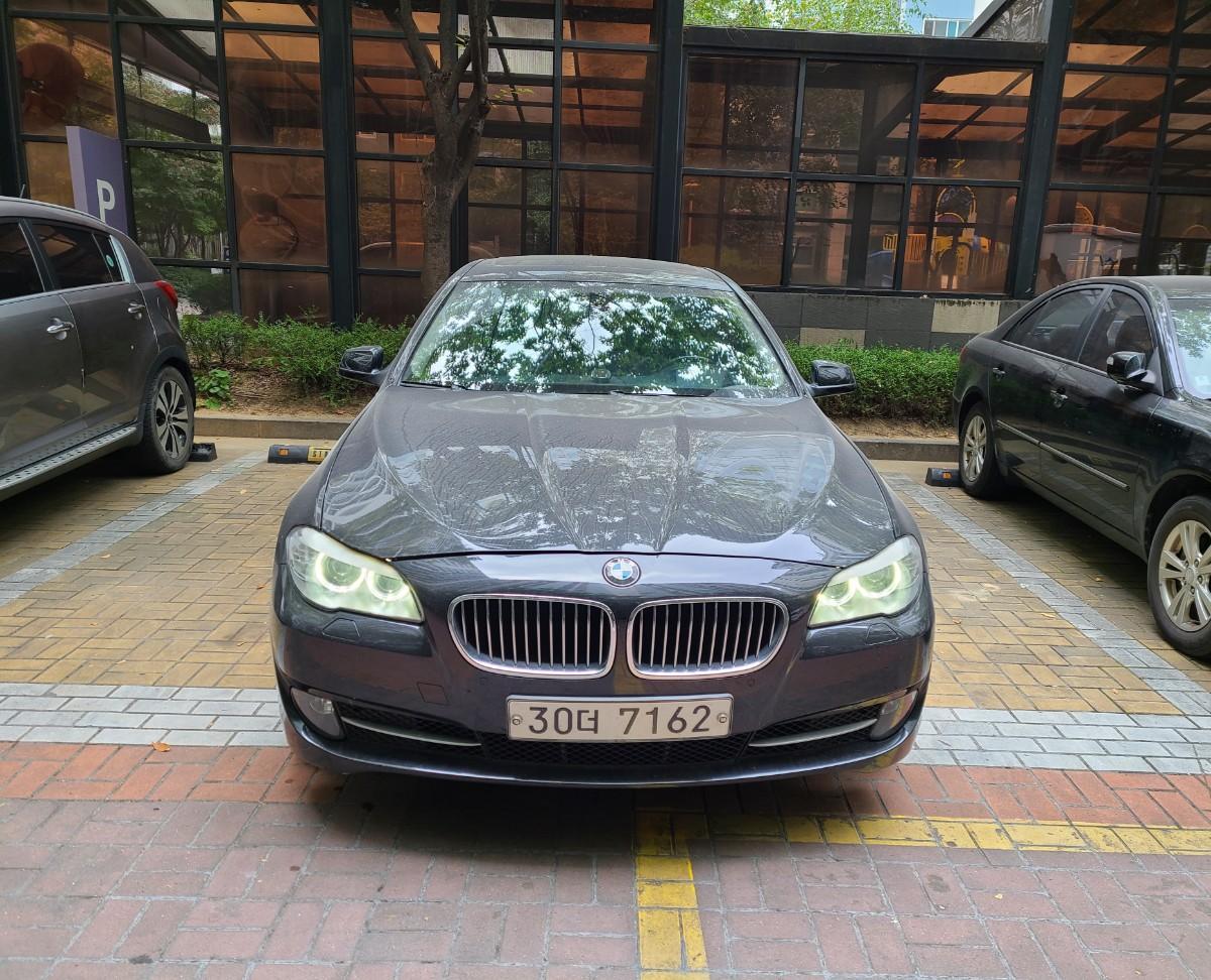 BMW 520d.검정색.무사고 팝니다 - 0