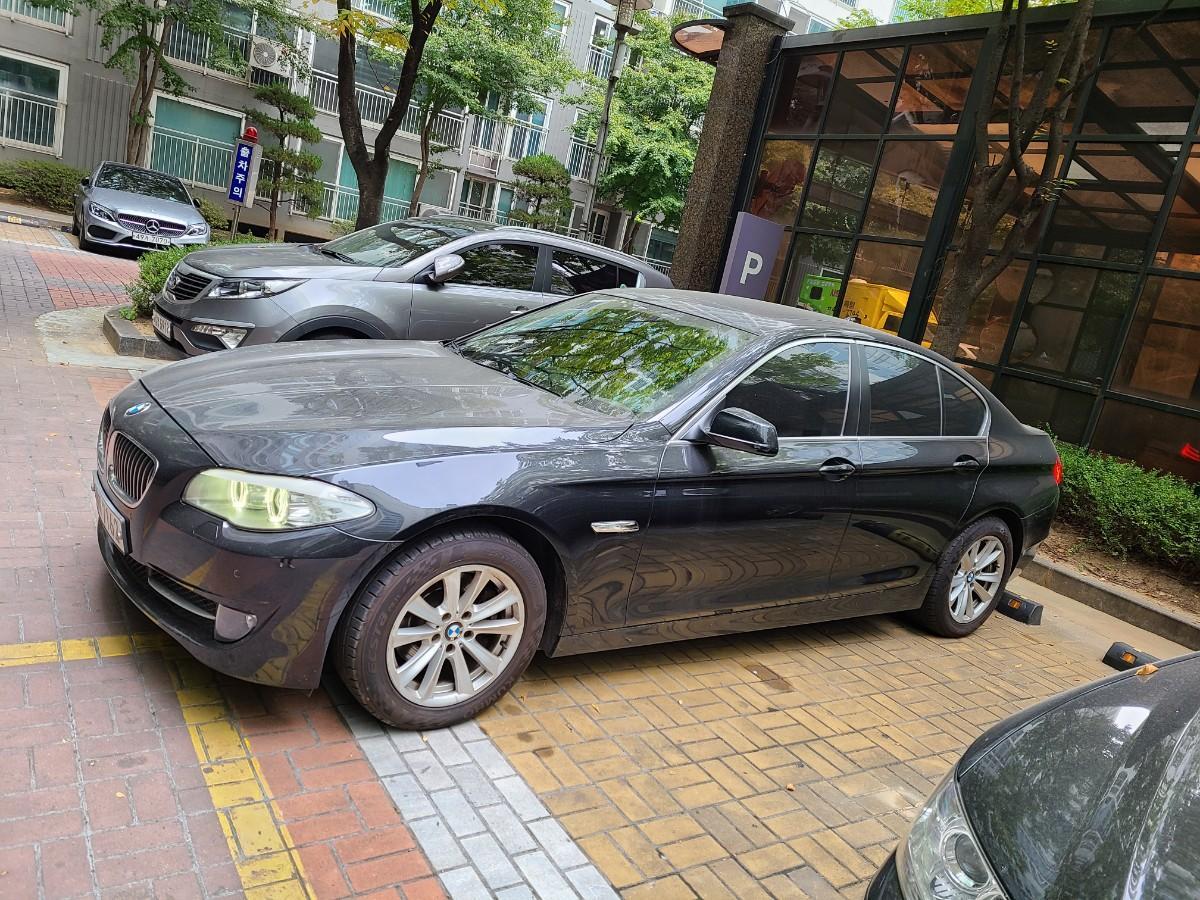 BMW 520d.검정색.무사고 팝니다 - 1