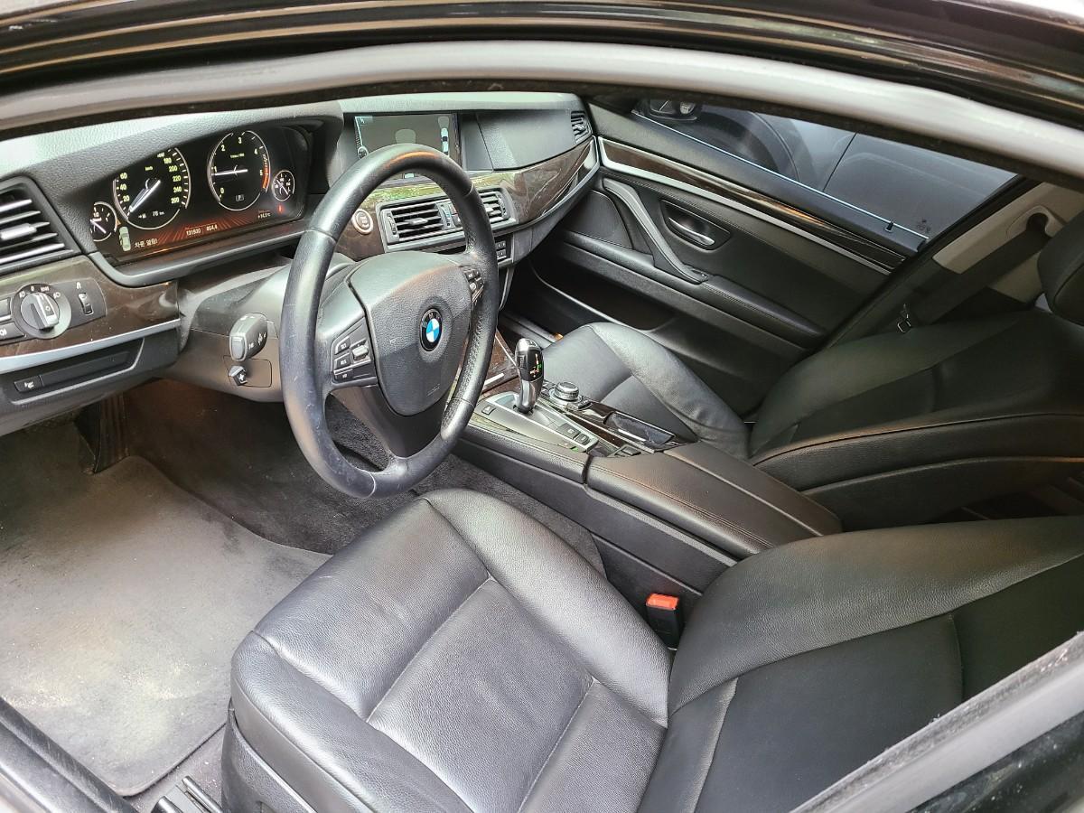 BMW 520d.검정색.무사고 팝니다 - 4