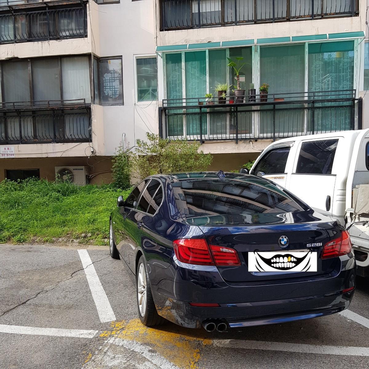 BMW 528I 일반넘버 카쉐어링 렌트 - 1