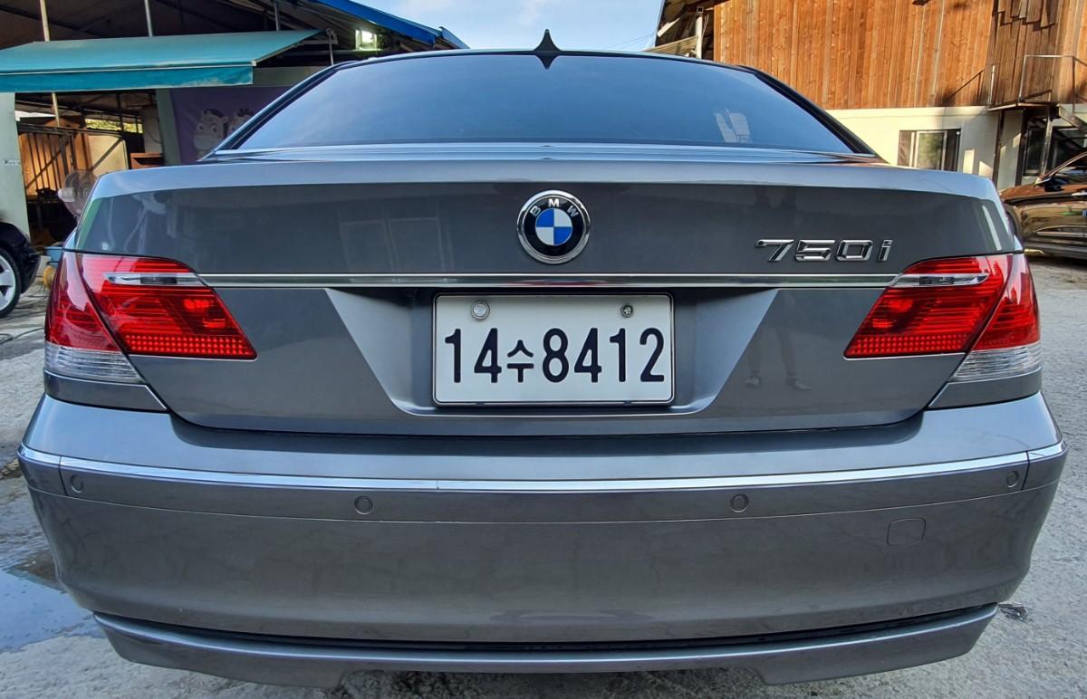 BMW 750i  2007년 750만원 13만km - 3