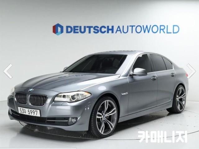 BMW 뉴 5시리즈 520D 세단 - 0