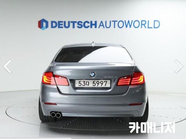 BMW 뉴 5시리즈 520D 세단 - 3