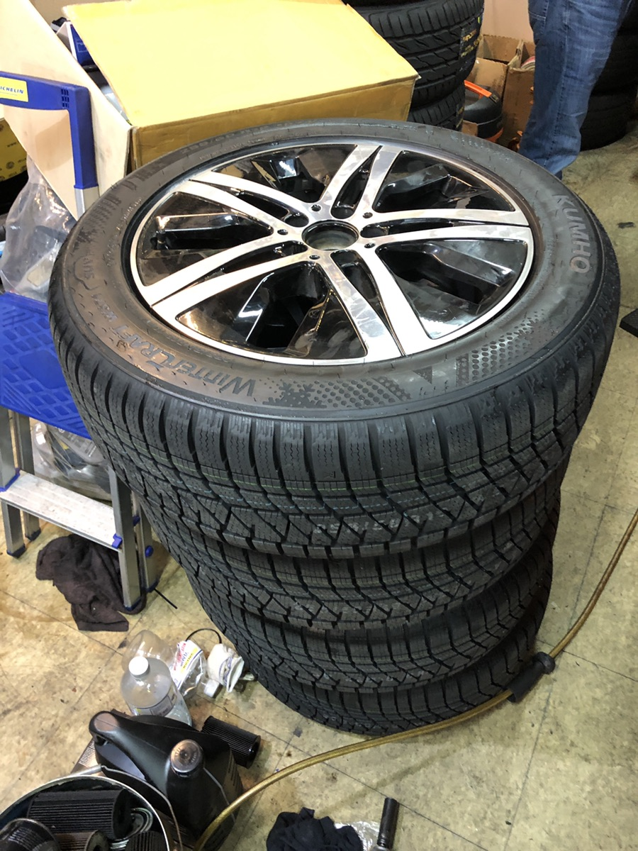 GLE 19인치 휠셋 및 윈터 타이어 - 7