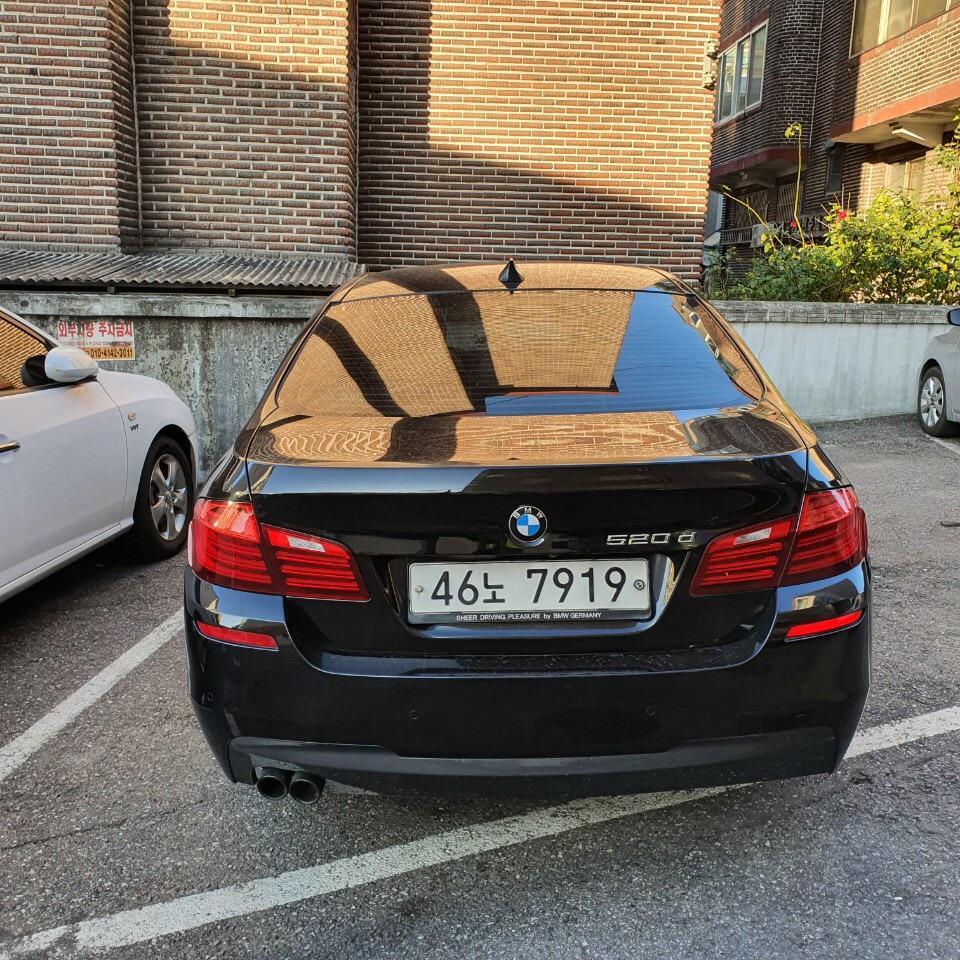 BMW520d m스포츠 - 3