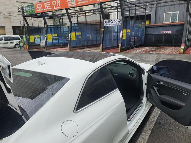 아우디 RS5 4.2콰트로 힌색 무사고차량 3100판매 - 4
