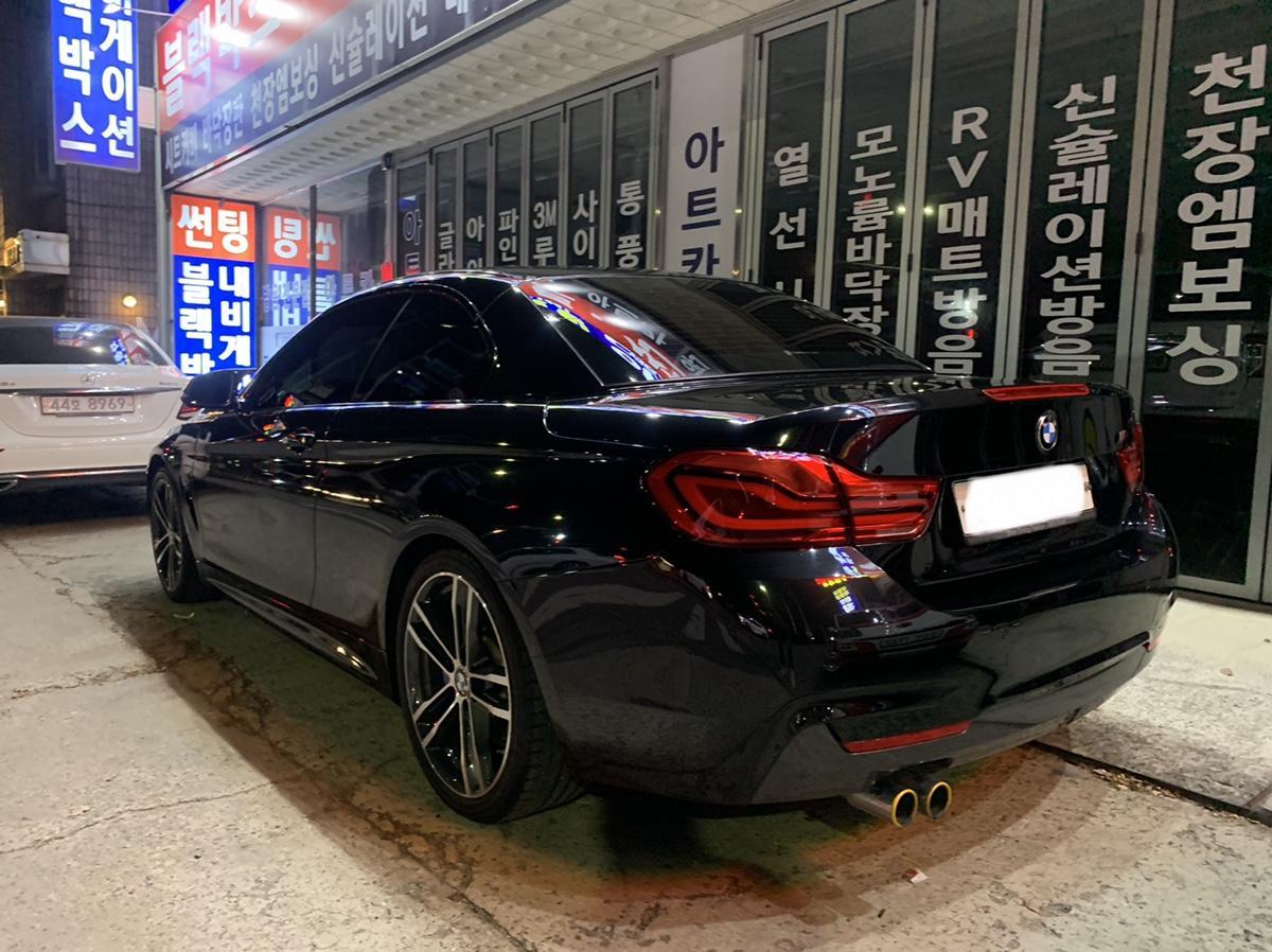BMW430I 컨버터블 M 팝니다 - 1
