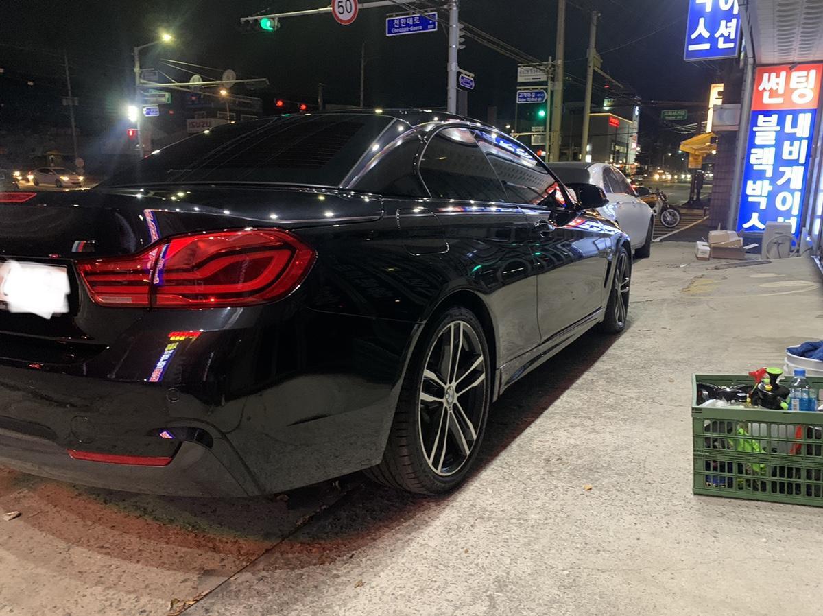 BMW430I 컨버터블 M 팝니다 - 6