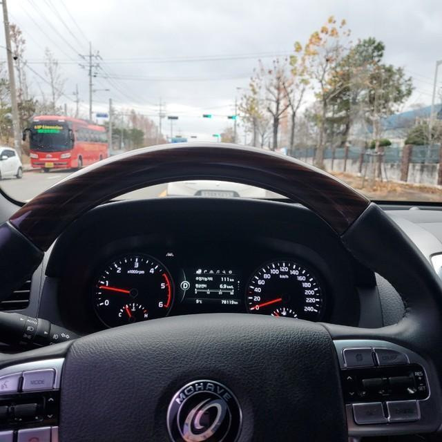 더 뉴 모하비 디젤 4WD 프레지던트 / 완전무사고 / 1인 신조 차량 - 10
