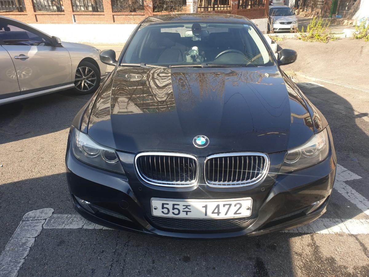 2009년5월식 BMW320I  가솔린  무사고 팔아요 - 0