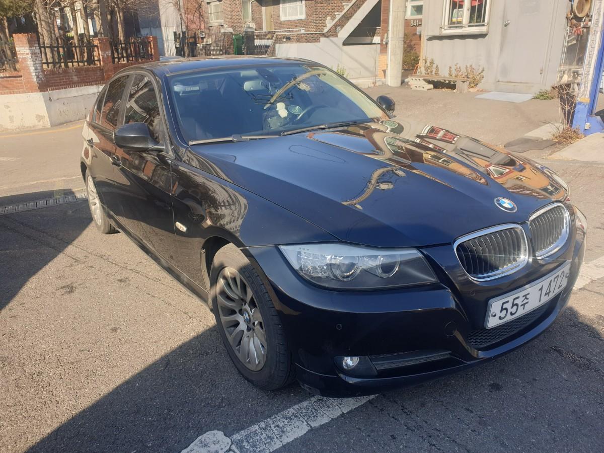 2009년5월식 BMW320I  가솔린  무사고 팔아요 - 1