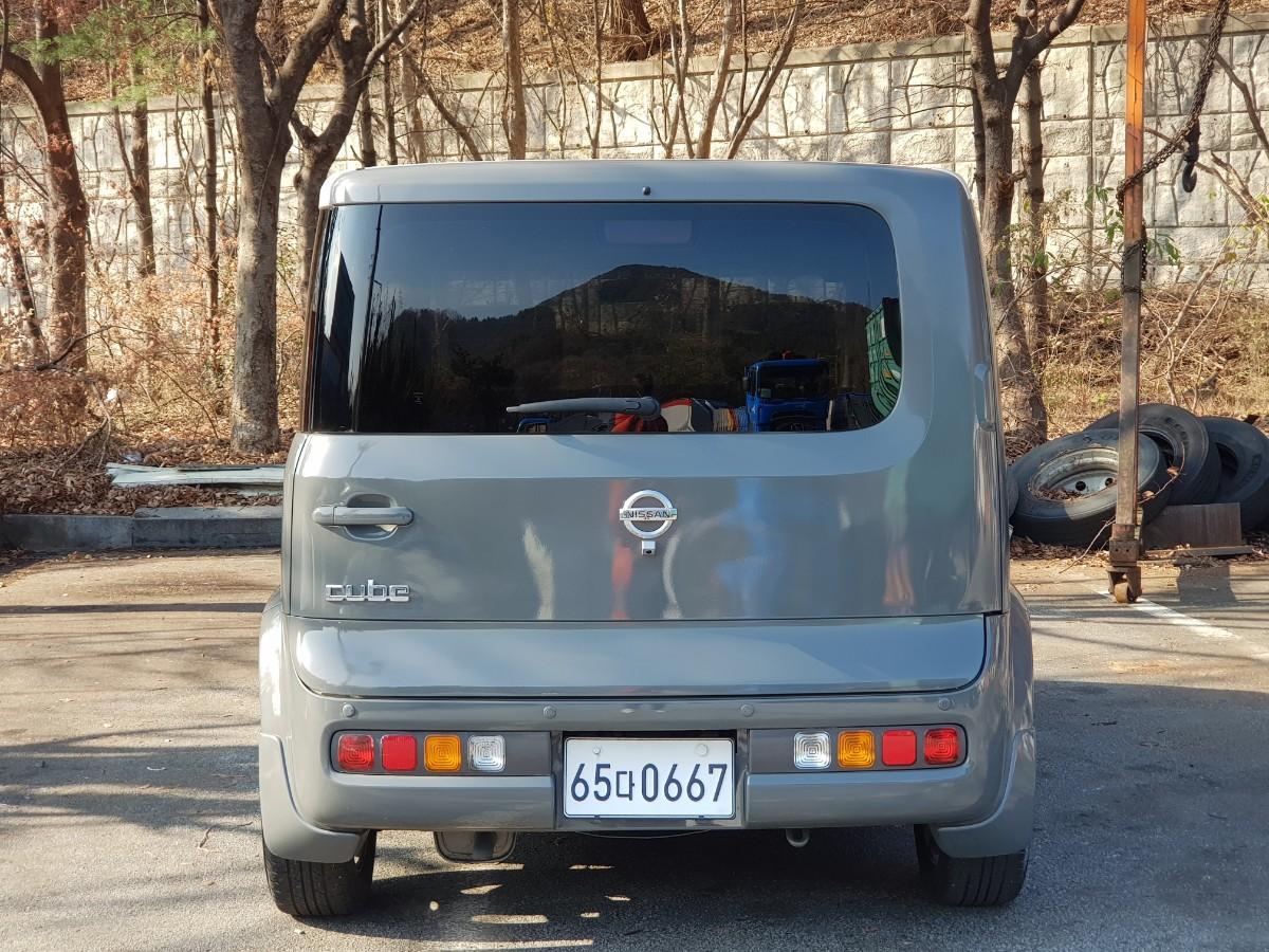닛산 큐브 MPi1.4 가솔린 (cvt아님) - 1