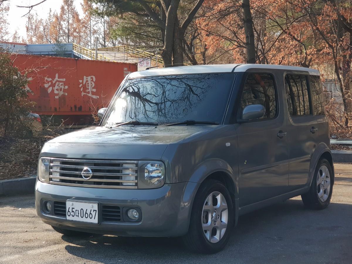 닛산 큐브 MPi1.4 가솔린 (cvt아님) - 2