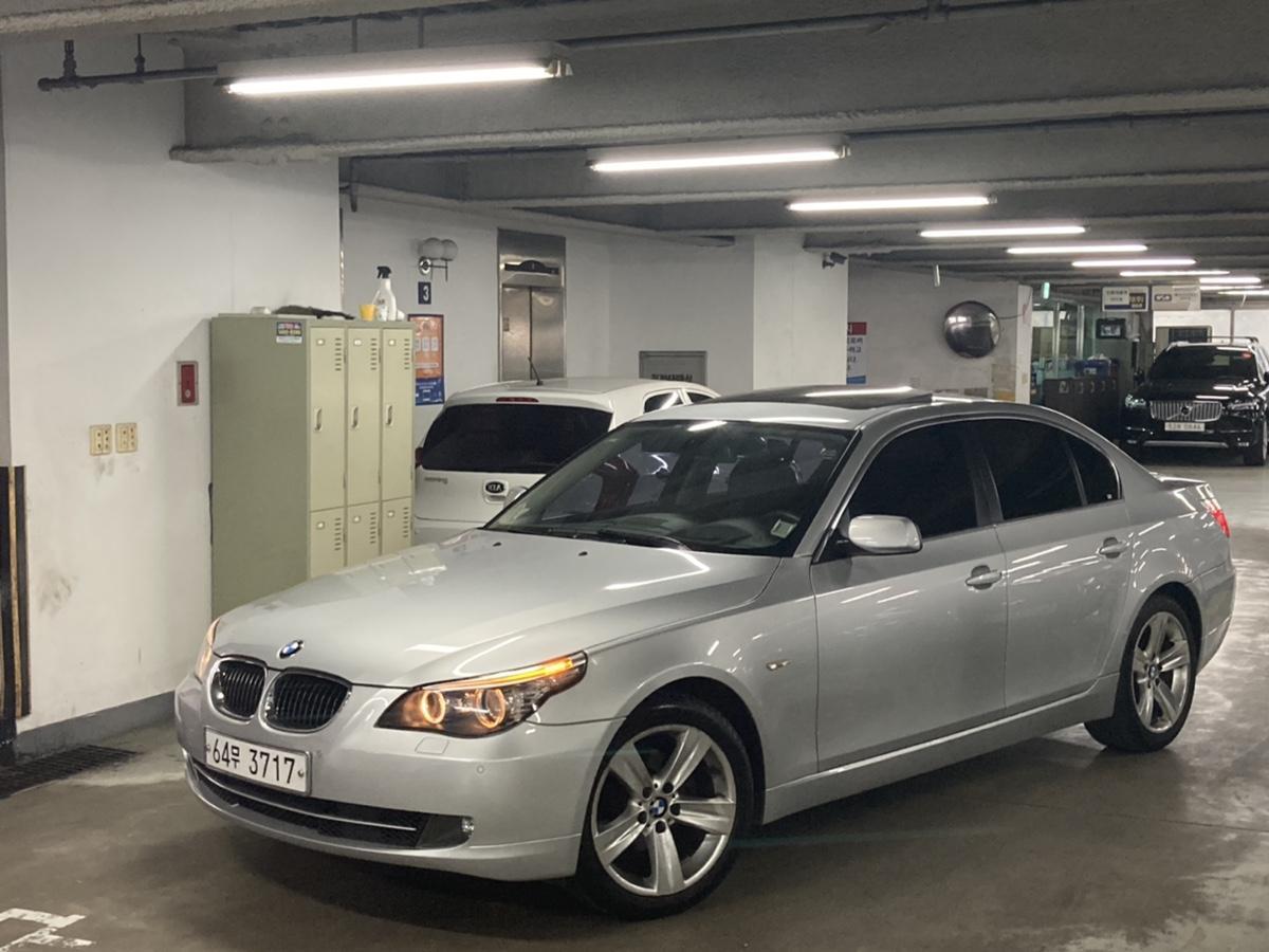 08년 BMW 528i 은색 무사고 16만km - 0