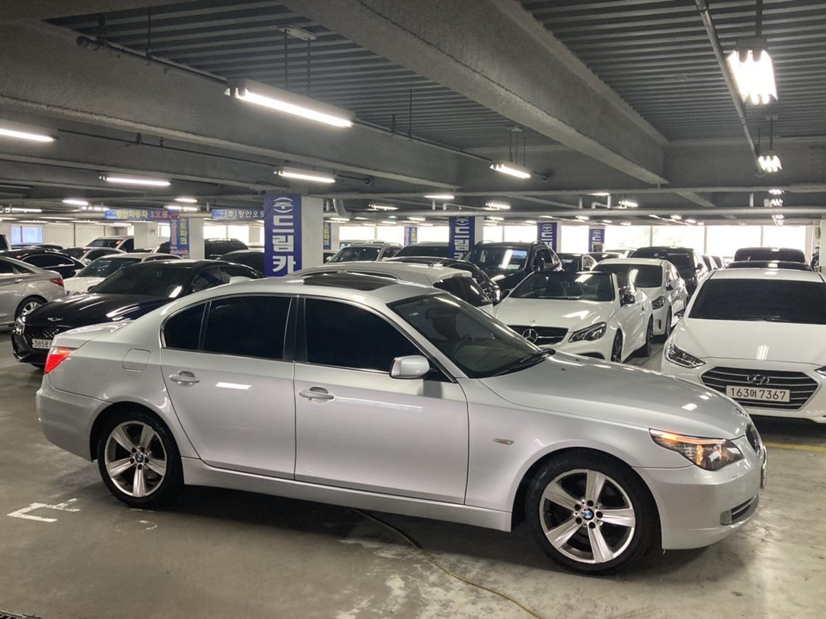08년 BMW 528i 은색 무사고 16만km - 2