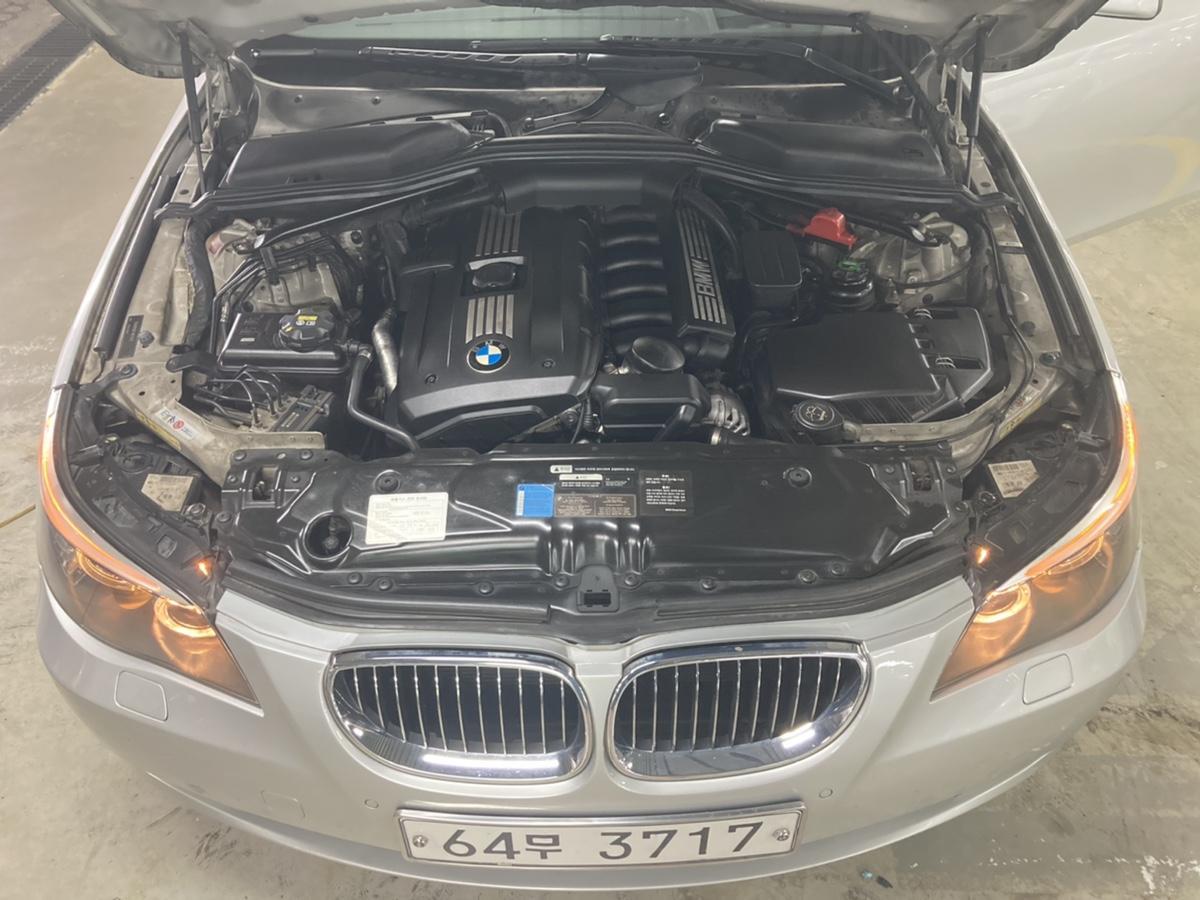 08년 BMW 528i 은색 무사고 16만km - 7