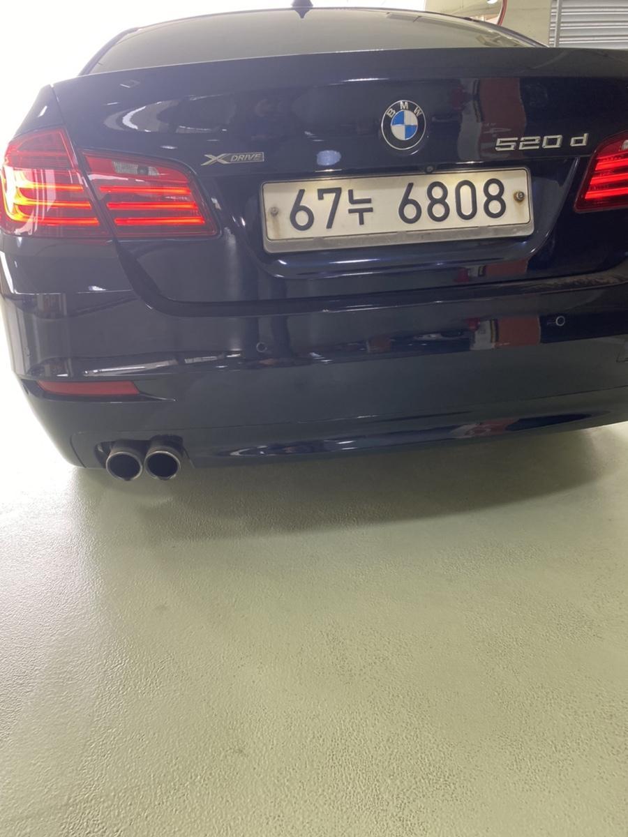 BMW 14년식 520d Xdrive 완전무사고 1인신조 비흡연 - 0